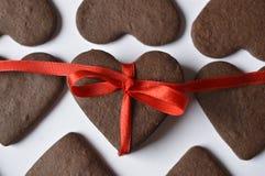 Печенья сердца Стоковое Изображение RF