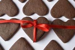 Печенья сердца Стоковые Изображения RF
