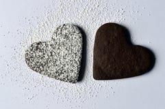 Печенья сердца Стоковые Фотографии RF