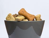 Печенья собаки в шаре Стоковые Изображения