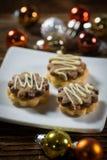 Печенья с вареньем на маленькой плите Стоковое Изображение RF