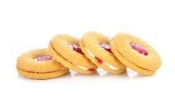 Печенья с вареньем плодоовощ Стоковые Фотографии RF