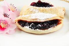 Печенья с вареньем сливы Стоковые Изображения RF