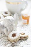Печенья с вареньем Стоковое фото RF