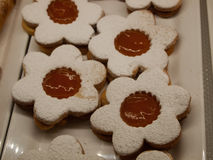 Печенья с вареньем Стоковые Фотографии RF