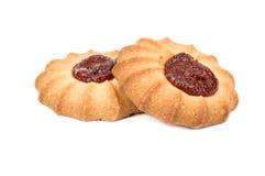 Печенья с вареньем Стоковое Фото