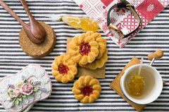 Печенья с вареньем Стоковое Изображение RF