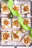 Печенья с гайками Стоковая Фотография RF