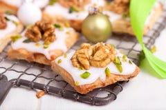 Печенья с гайками Стоковые Фотографии RF