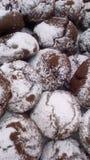 Печенья с какао Стоковые Фотографии RF