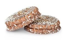 Печенья с кокосом Стоковое фото RF