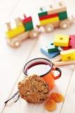 Печенья с овсами Стоковое Фото
