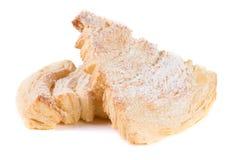 2 печенья слойки изолированного на белой предпосылке Стоковая Фотография RF