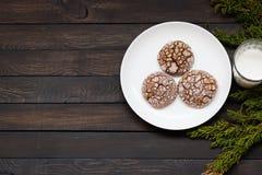 Печенья с отказами Стоковое Фото