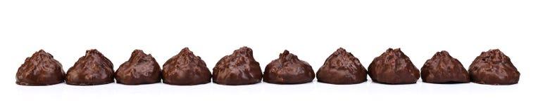 Печенья с полной шлихтой шоколада Стоковые Изображения