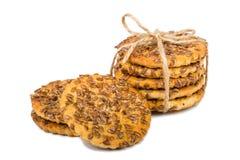 Печенья с семенами Стоковое Фото