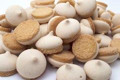 Печенья с сливк Стоковое Изображение