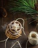 Печенья с украшением рождества Стоковое Изображение RF