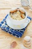 Печенья с хлопьями миндалины Стоковое фото RF