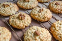 Печенья с хлопьями овса Стоковые Изображения