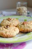 Печенья с хлопьями овса Стоковая Фотография