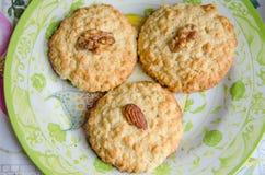 Печенья с хлопьями овса Стоковое фото RF