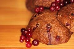 Печенья с ягодами 5 Стоковые Фотографии RF