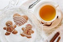Печенья темы рождества Стоковое Изображение RF