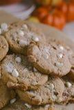 Печенья тыквы Стоковое Фото