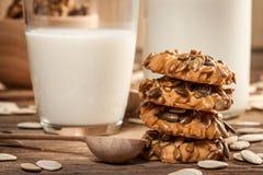 Печенья тыквы Стоковая Фотография