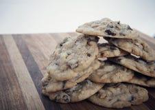 Печенья фундука обломока шоколада Стоковые Фото