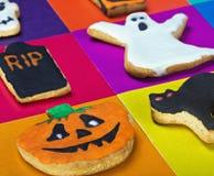 Печенья хеллоуина Стоковое Фото