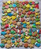 Печенья хлеба имбиря Стоковые Фото