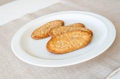 Печенья хлопьев Стоковое Фото