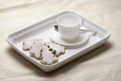 Печенья циннамона рождества стоковое фото rf