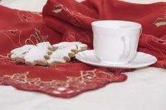 Печенья циннамона рождества стоковые изображения rf
