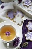 Печенья & чай Стоковое Изображение RF