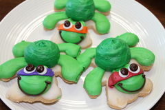 Печенья черепахи стоковое фото