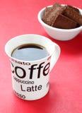 печенья черного кофе Стоковые Изображения RF