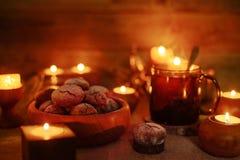 печенья шоколада домодельные Стоковое Изображение