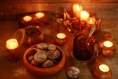 печенья шоколада домодельные Стоковое Изображение RF