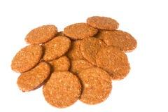 Печенья шоколада и овса Стоковые Фото