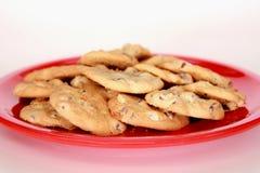 печенья шоколада обломока домодельные Стоковые Фото