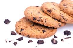 печенья шоколада обломока Стоковые Изображения