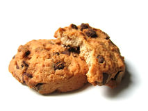 печенья шоколада обломока Стоковое фото RF