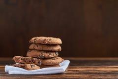 печенья 3 шоколада стоковое изображение rf