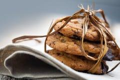 печенья шоколада обломока Стоковое Фото