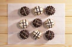 печенья шоколада вкусные Стоковые Изображения