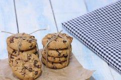 печенья шоколада обломока вкусные Стоковые Изображения