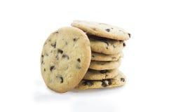 3 печенья шоколада обломока Стоковая Фотография RF